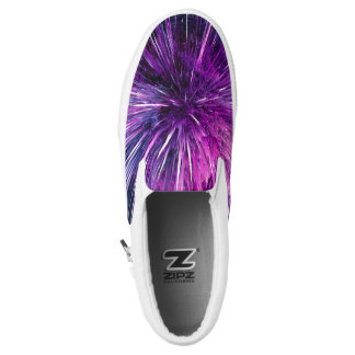 supersonic abstract printed shoes