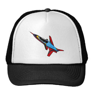 Supersonic Airforce Jet-Fighter Design for Pilots Mesh Hats