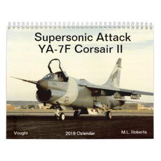 Supersonic Attack YA-7F Corsair II Calendar