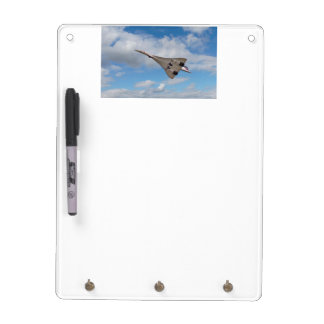 Supersonic Concorde G-BOAB Dry Erase Whiteboard