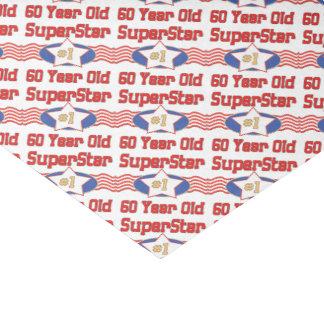 Superstar 60th Birthday Tissue Paper
