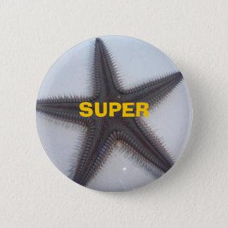 Superstar 6 Cm Round Badge