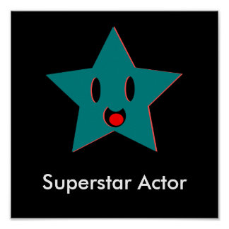 Superstar Actor Poster