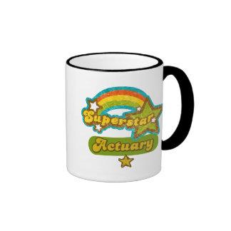 Superstar Actuary Ringer Mug