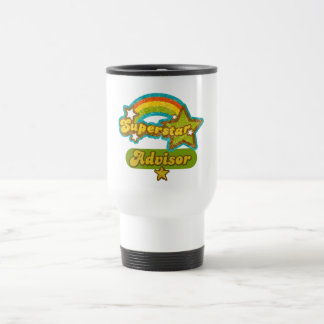 Superstar Advisor Stainless Steel Travel Mug