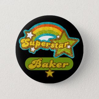 Superstar Baker 6 Cm Round Badge