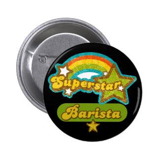 Superstar Barista Pins