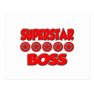 Superstar Boss Post Card