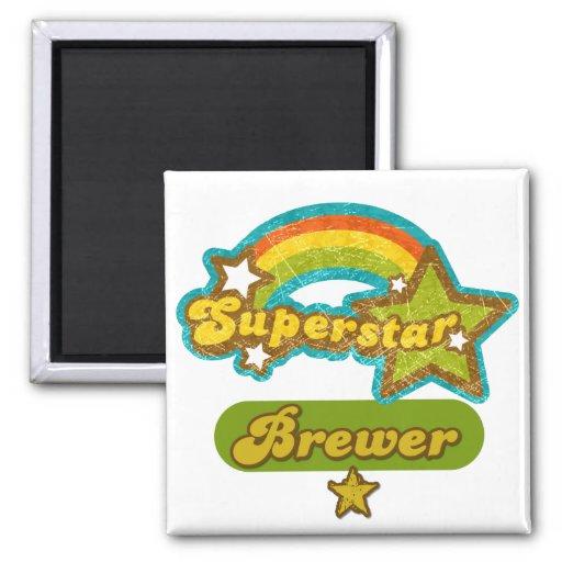 Superstar Brewer Magnet
