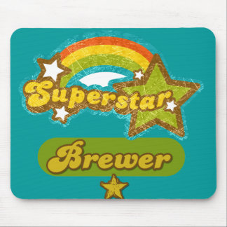 Superstar Brewer Mousepad
