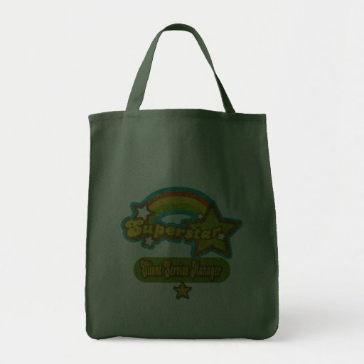 Superstar Client Service Manager Canvas Bags