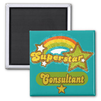 Superstar Consultant Refrigerator Magnets