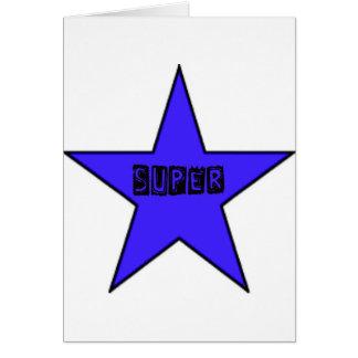 Superstar cute card