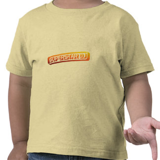 Superstar DJ - Disc Jockey DJing Music DJ Shirts
