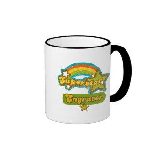 Superstar Engraver Coffee Mug