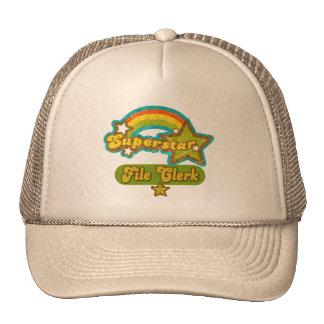 Superstar File Clerk Hats