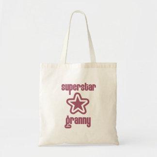 Superstar Granny Budget Tote Bag