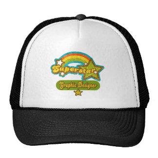 Superstar Graphic Designer Trucker Hats