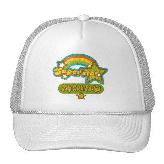 Superstar Help Desk Analyst Mesh Hats