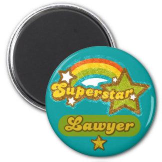 Superstar Lawyer Refrigerator Magnet