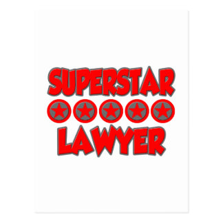 Superstar Lawyer Post Cards