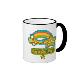 Superstar Legal Assistant Ringer Mug