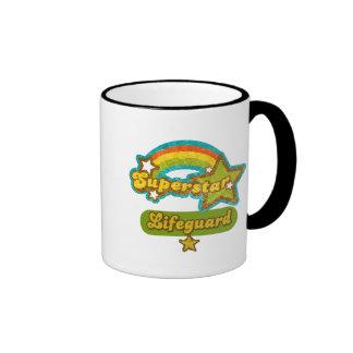 Superstar Lifeguard Coffee Mugs