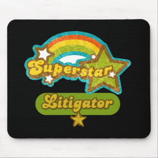 Superstar Litigator Mouse Pad