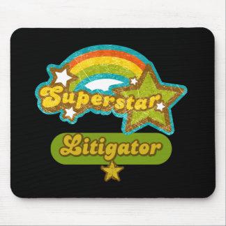 Superstar Litigator Mousepad