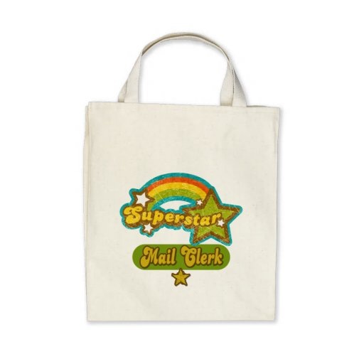 Superstar Mail Clerk Canvas Bag