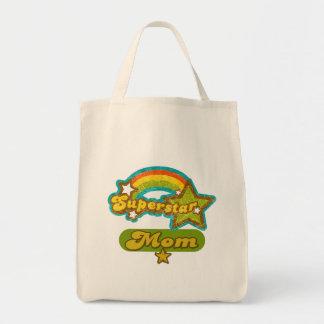 SuperStar Mom Canvas Bag