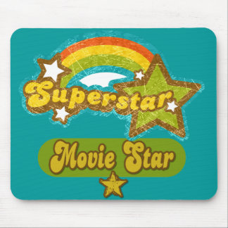 Superstar Movie Star Mouse Pad