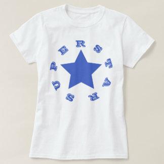 SUPERSTAR | Navy Blue Star Women's Basic T-Shirt