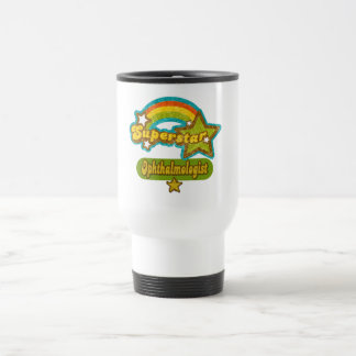 Superstar Ophthalmologist Stainless Steel Travel Mug