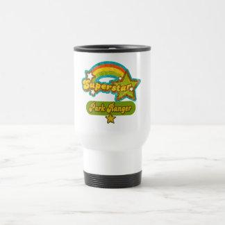 Superstar Park Ranger Stainless Steel Travel Mug