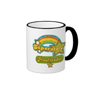 Superstar Proofreader Ringer Mug