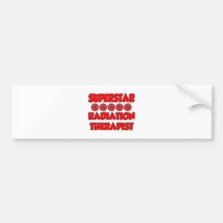 Superstar Radiation Therapist Bumper Sticker