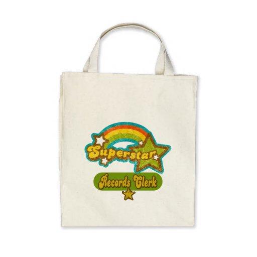 Superstar Records Clerk Tote Bag