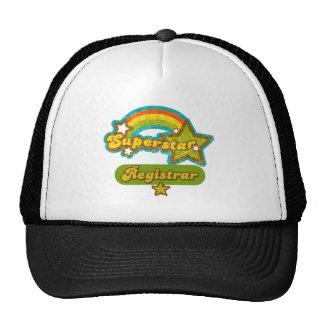 Superstar Registrar Hats