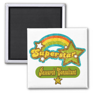 Superstar Research Consultant Refrigerator Magnet