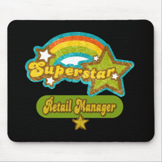 Superstar Retail Manager Mouse Pad