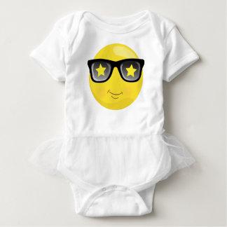 Superstar/ Rockstar Emoji Baby Bodysuit