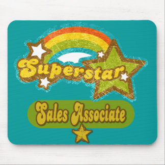 Superstar Sales Associate Mouse Pad