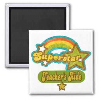 Superstar Teacher s Aide Fridge Magnet