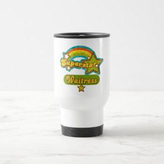Superstar Waitress Mugs