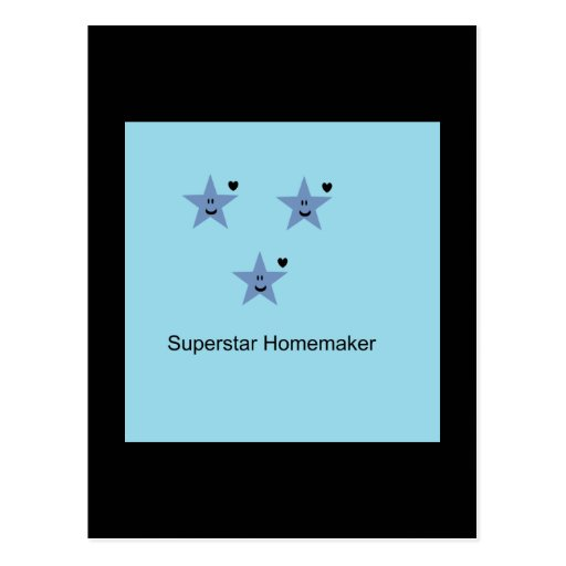 Superstarhousewife Post Card