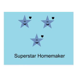 Superstarhousewife Postcard