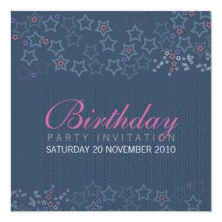 Superstars Birthday Invitationz Card