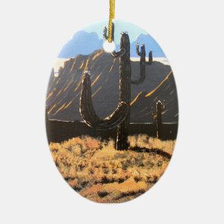Superstition Mountain Dreams Ceramic Ornament