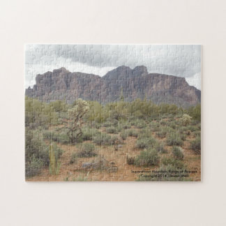 Superstition Mountain Range of Arizona Jigsaw Puzzle